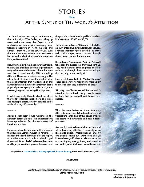 Awareness page 13
