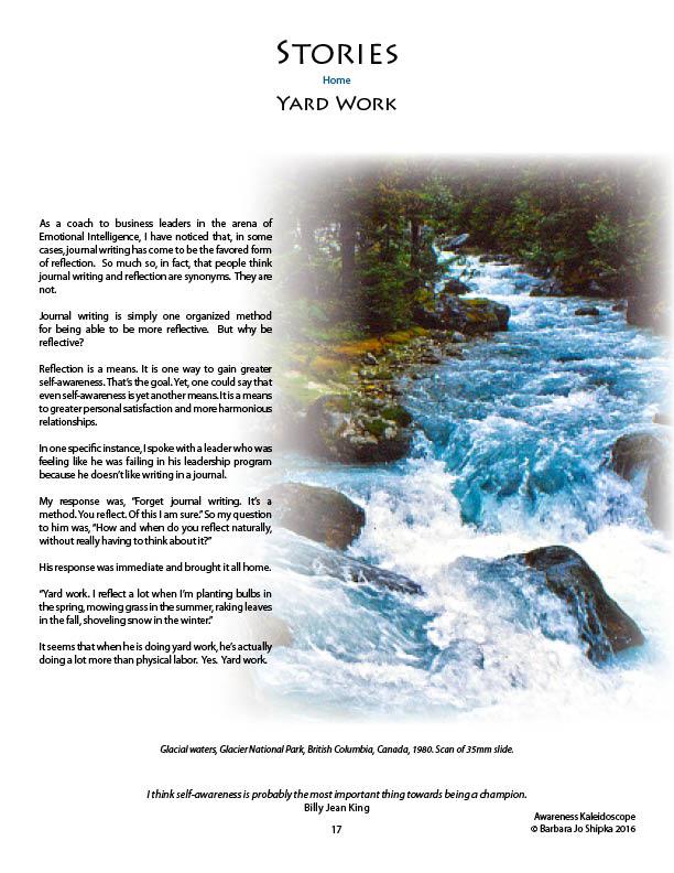 Awareness page 17